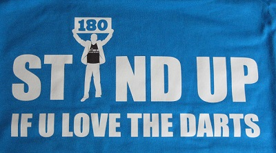 Stand up... blau